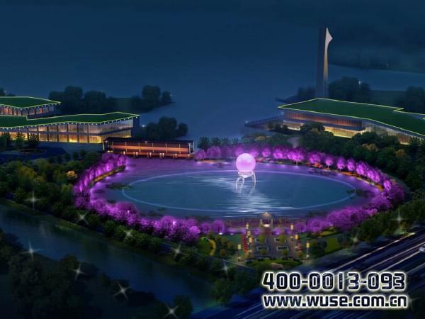 雁鸣湖景观照明规划设计