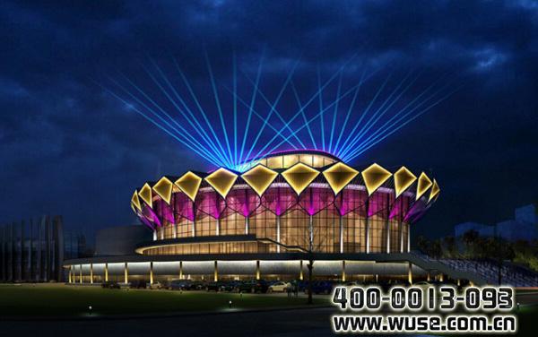 建筑照明设计方案:按需定制-行业资讯,五色领先照明