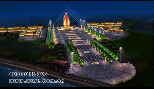 古建亮化——太谷孟母文化养生健康城照明方案