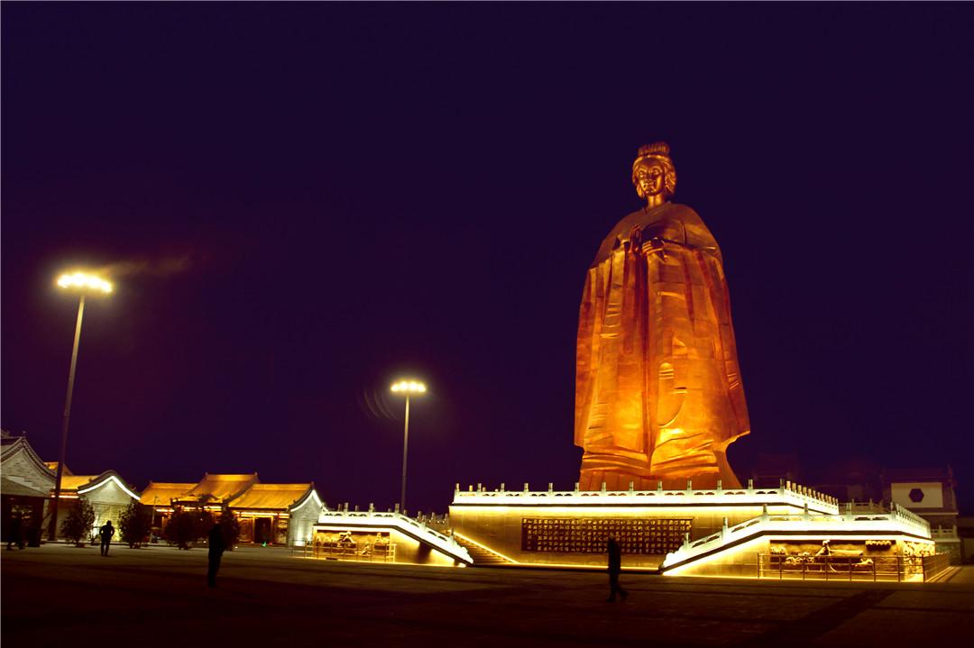 景区照明—孟母文化园的中国解读