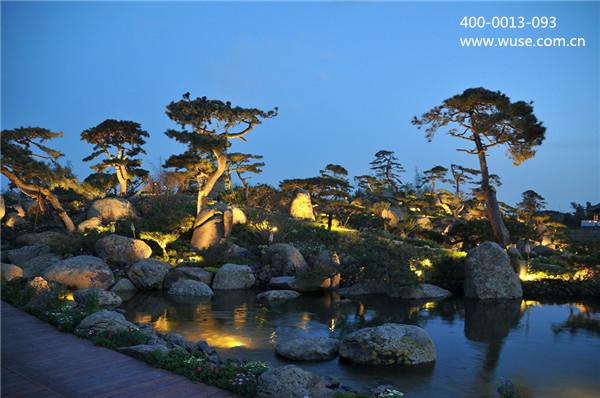 """园林夜景照明也要走""""亮化-艺术化-生态化""""的道路"""