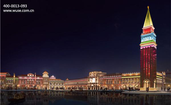 城市广场夜景照明设计要因用途而异