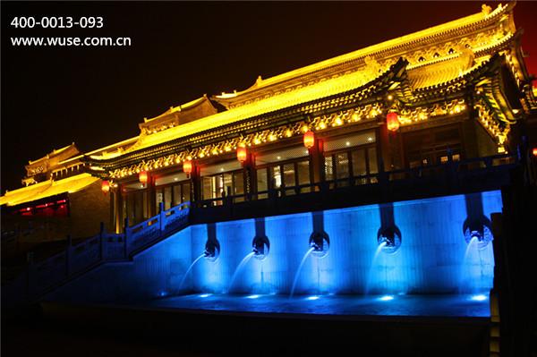 古建筑夜景照明设计:不仅塑造形象更要体现文化