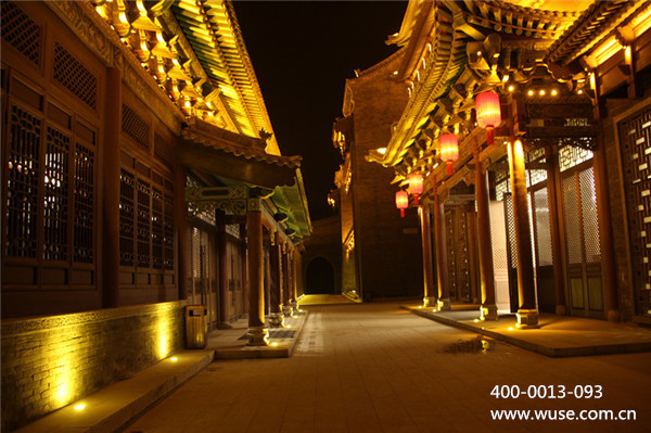 三种常见的中式建筑亮化设计方案