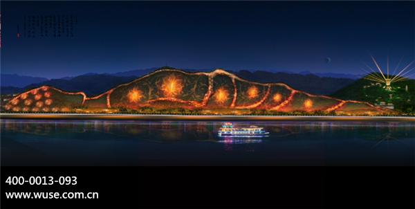 山体亮化:旅游亮点和自然生态相辅相成
