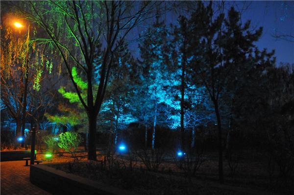园林照明设计--以人为本