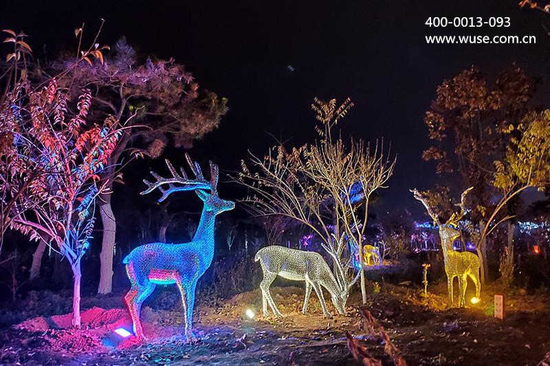 植物景观照明的照明方式大放送!