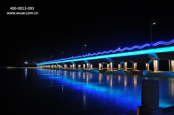 桥梁亮化这样做会很美!