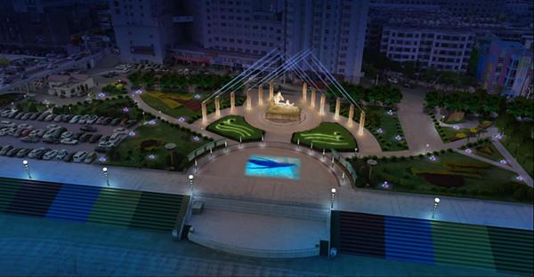 广场亮化工程要合理规划