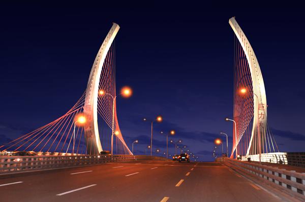 保定巨力大桥工程
