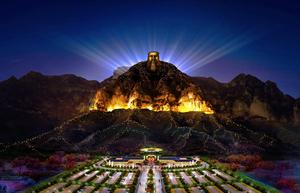 神农山景观照明工程