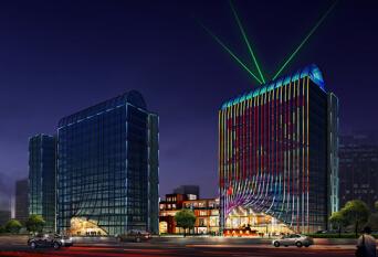 富兴国际楼体亮化工程