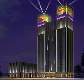 中国石油楼体照明工程