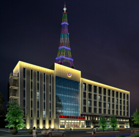 辽宁绥中公安局楼体亮化工程