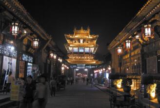 平遥古城商业街
