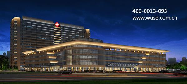 医院楼体照明工程——用敬畏之心打造人文关怀