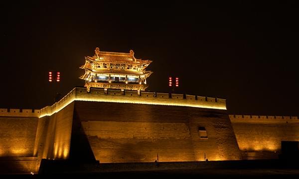 平遥古城景区照明规划:用光影触摸历史