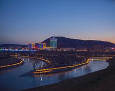 彭阳茹河景观亮化|夜色波光 皆可入画