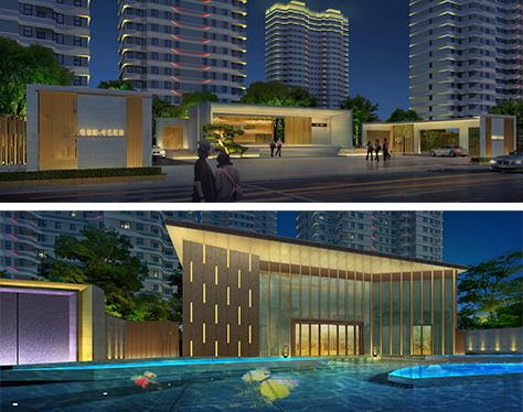 唯梦想 唯时光 念念不忘 丨中艺·和悦府住宅项目泛光照明设计方案