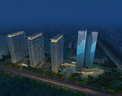 柒星国际楼体亮化工程-私藏城市灯光,重塑人间理想