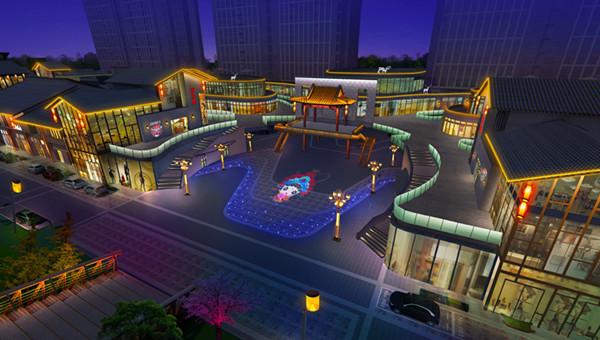 看繁华都市,享醉美夜景丨乐陵智慧文化广场亮化设计